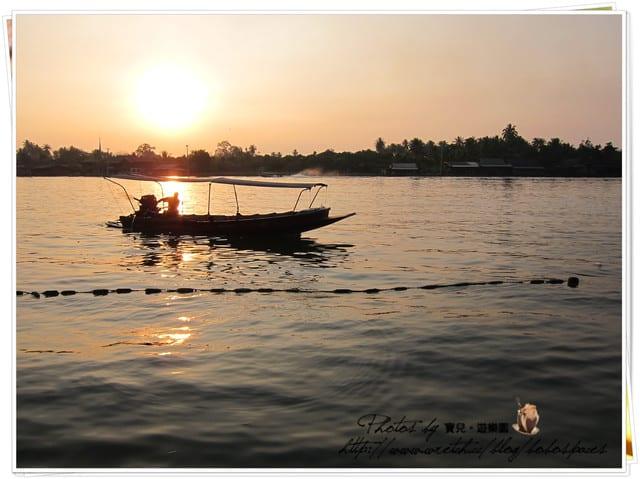 【曼谷周邊景點|安帕瓦水上市場 】遠離塵囂的寧靜的小鎮Amphaw。