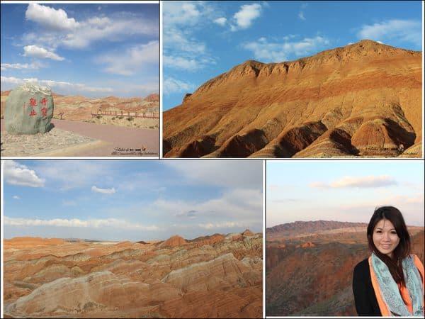 【中國西北-絲路】Day2-2 張掖丹霞地質公園  讓人驚豔的七彩丹霞地貌