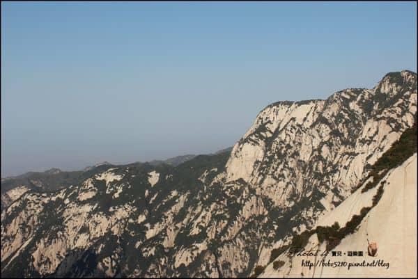 【中國西北–西安】Day10-2 華山(下)。上山容易下山難(長空棧道/東峰/中鋒/北峰)