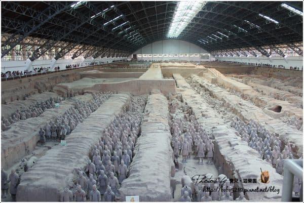 【中國】西安。Day11-2 世界第八大奇蹟—秦始皇陵的兵馬俑博物館