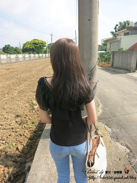 【美髮】夏日輕盈新髮色♥質感亞麻綠。