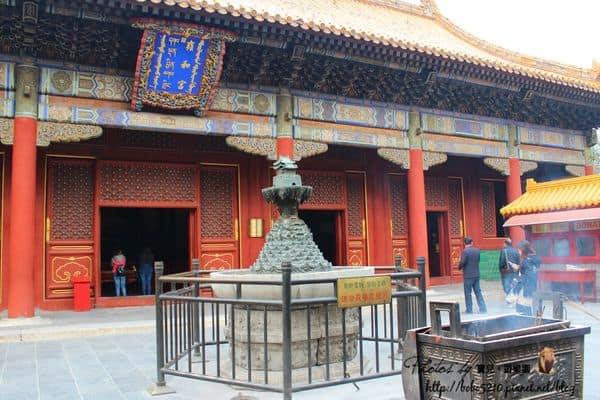 【2013中國北京】Day11-1 四爺我來了!中國最大喇嘛廟&皇家第一寺院–雍和宮