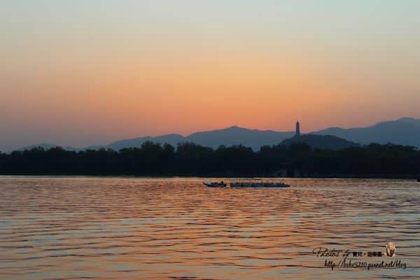 【2013中國北京】Day12-2 頤和園(下)。夕陽下的綺麗,列入世界文化遺產的皇家園林。