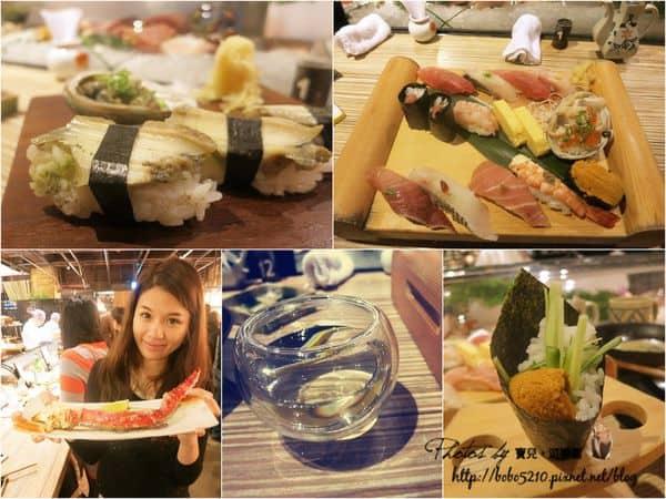 【食記】台北美食。三井集團上引水產,終於吃到豪華夢幻逸品的鱈場蟹了!