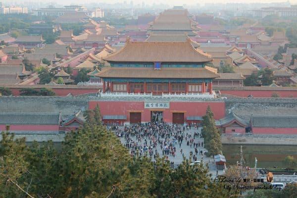 【2013中國北京】Day14-2 釣魚台銀杏大道&景山公園上的紫禁城。