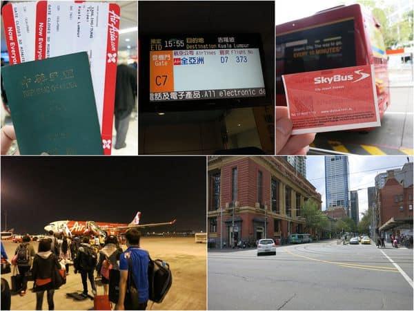 【2014澳洲。墨爾本】Day1啟程。抵達墨爾本 & 墨爾本機場到市區sky bus(機場快線)搭乘。