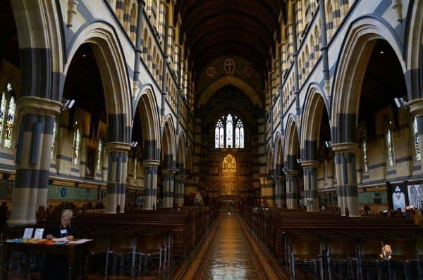 【2014澳洲。Melbourne】Day2-1 初見墨爾本。不在計畫內但很漂亮的聖保羅大教堂 (St. Paul Cathedral)