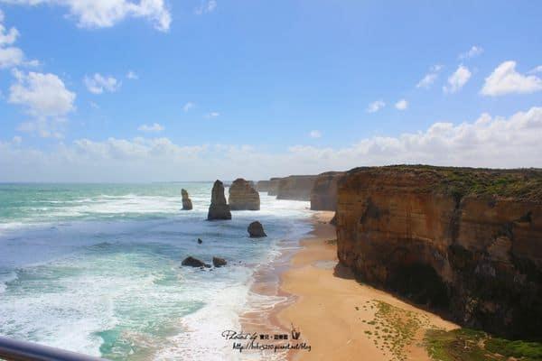 【2014澳洲。Melbourne】Day3-2 租車玩墨爾本。超美大洋路(Grate Ocean Road)、十二門徒岩(Twelve Apostles)。