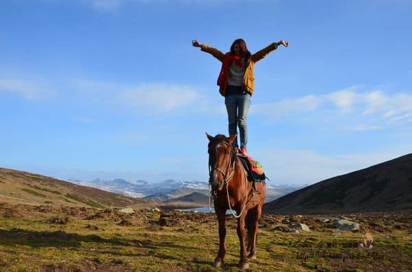 【2014 中國新疆】Day9-1 小黑湖→大黑湖→喀納斯(上)。長長的路要揮霍的走,大大的世界要率真的感受