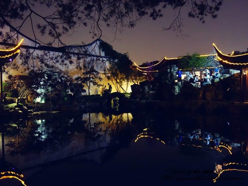 【2015 中國江南】蘇州園林。夜遊網獅園,崑曲、評彈園曲合一,體驗江南文化的完美結合。