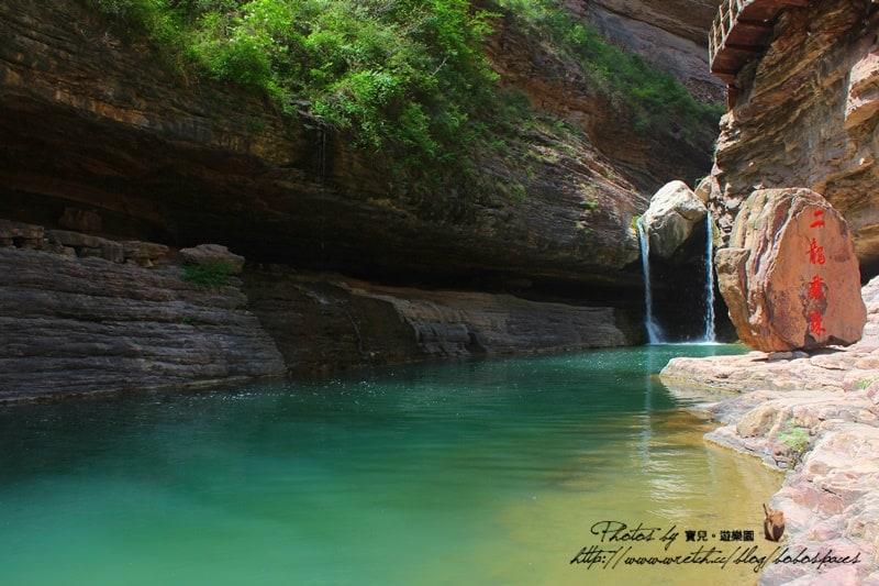 【中國河南】安陽。林州太行大峽谷,桃花谷、太行天路,漫步泉潭叠瀑的溫柔。