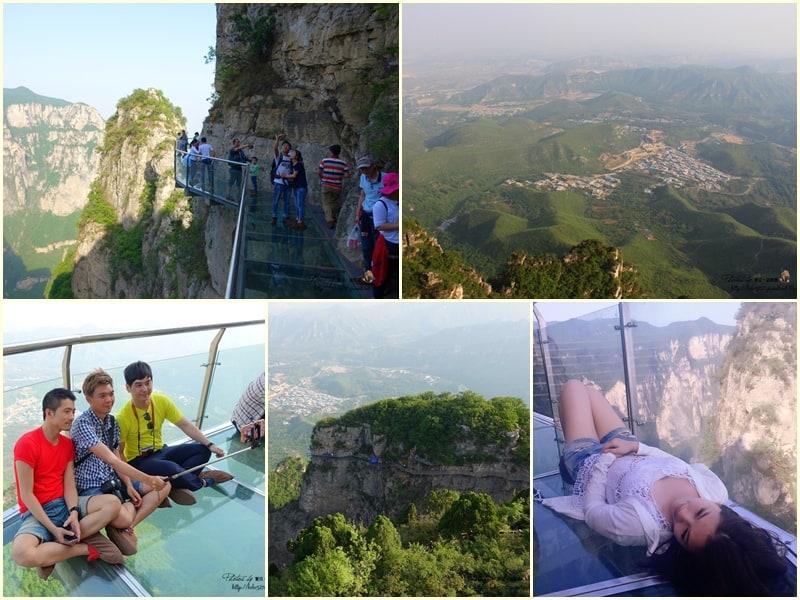 【中國河南-焦作雲台山】茱萸峰鳳凰嶺。驚險刺激玻璃棧道,懸崖峭壁上的新奇體驗!