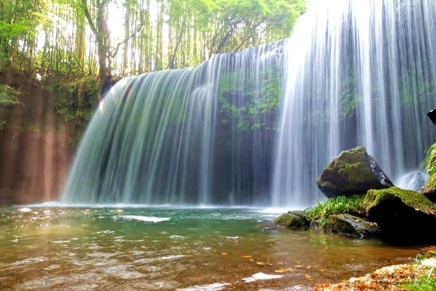 【日本。九州】熊本秘境。鍋ヶ滝(鍋瀑布),彷若仙境般的美景。