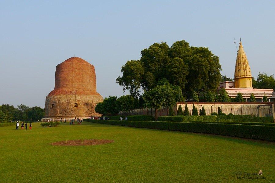 【北印度】Day13-2 瓦拉納西 。佛教聖地鹿野苑Sarnath,尋找釋迦牟尼初次講道的感動。