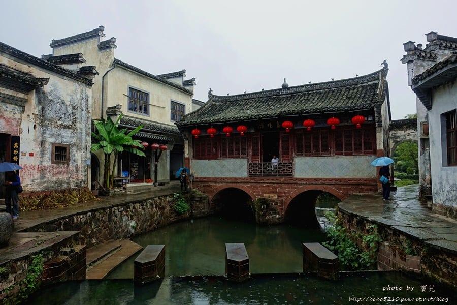 【中國安徽】唐模 古鎮。煙雨皖南,漫步似水柔情的唐風古鎮。