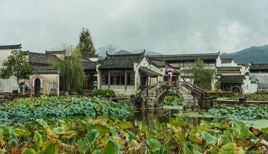 【中國安徽】呈坎 古鎮。彷若迷宮,穿越千年歷史的神秘八卦村。