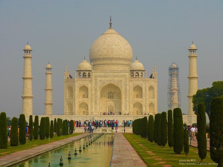 【印度】Day19 阿格拉Agra。 泰姬瑪哈陵(Taj Mahal),思念日日夜夜,都化作永恆面頰上的一滴淚。