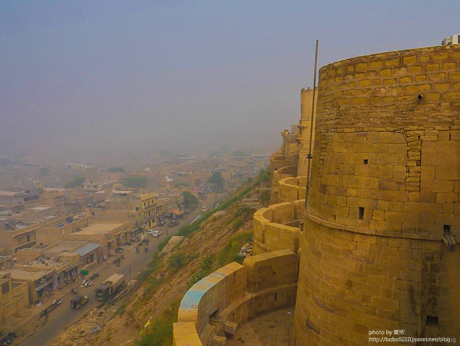 【印度】Day22 拉賈斯坦邦,齋沙默爾Jaisalmer。置身時空倒轉的黃金城市。