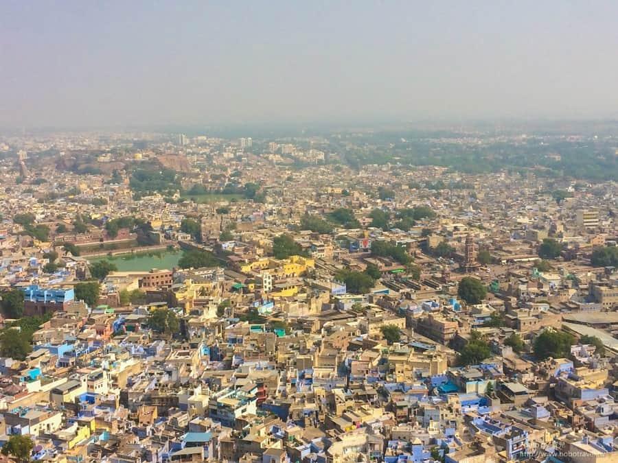 【印度。拉賈斯坦邦】Day25 藍色之城,焦特布爾Jodhpur。走入尋常百姓家。
