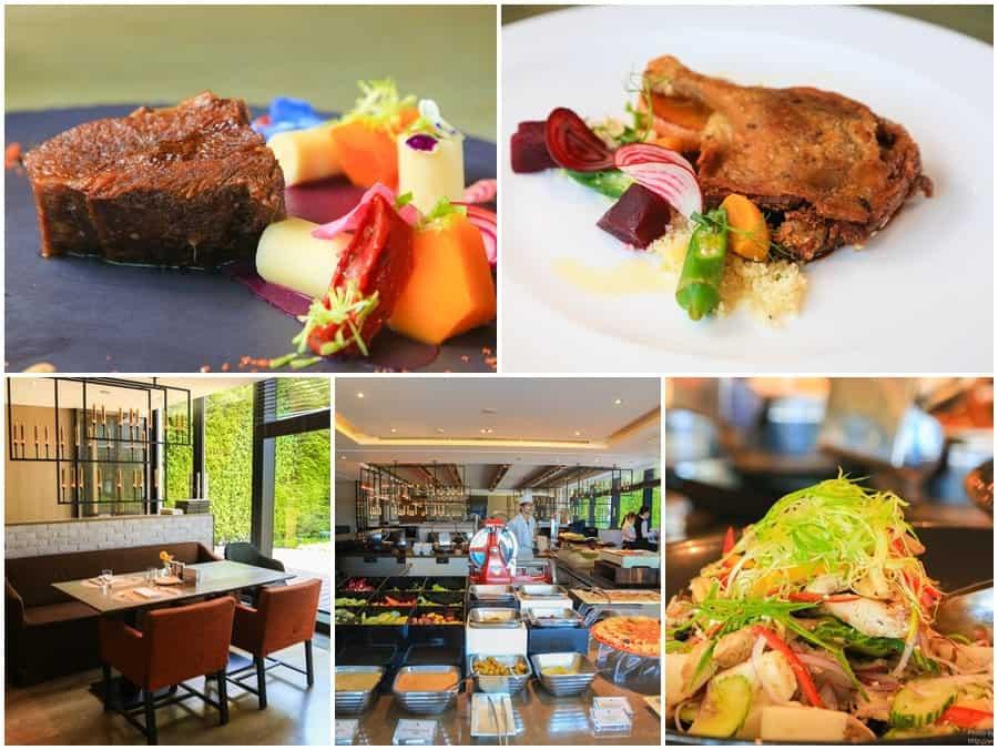 【2017台北餐廳週,期間限定優惠五折起】寒舍艾麗酒店La Farfalla義式餐廳。主菜二選一,還有帝王蟹吃到飽。