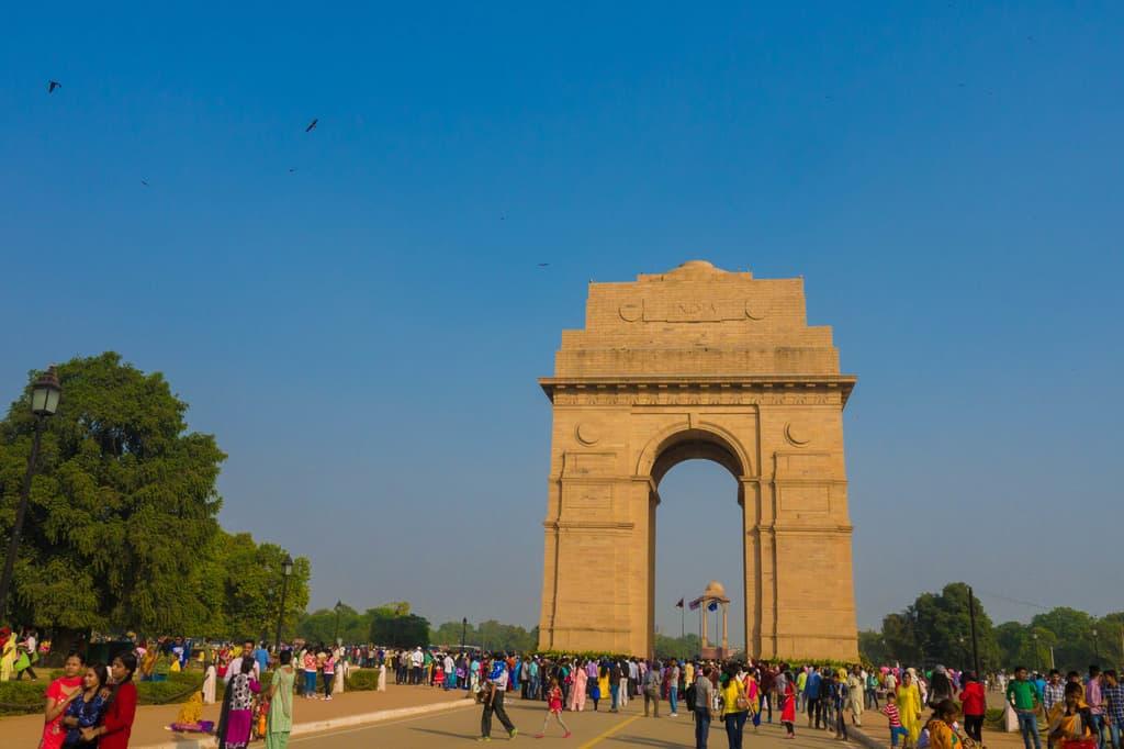 【印度。New Delhi】Day26 再回新德里。印度門下的印度生活。