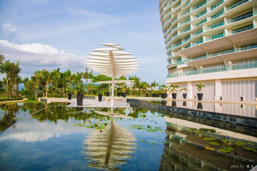【海南島住宿推薦|中國第一家七星級酒店】海棠灣紅樹林酒店。奢華與科技集於一身的藝術精品。