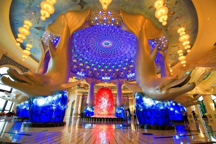 【中國珠海。長隆海洋王國住宿】橫琴灣酒店。暢遊水世界、與海豚親密接觸,親子閨蜜兩相宜的高質感酒店!