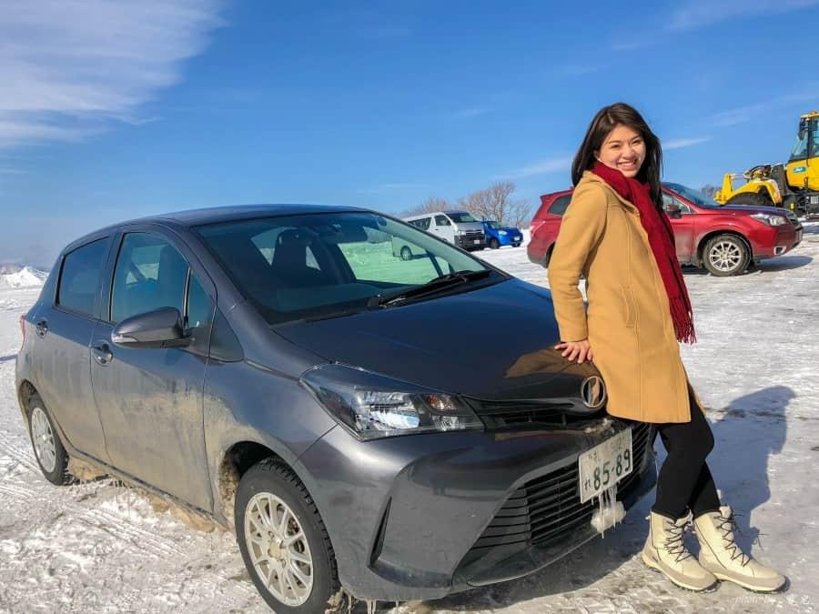 【北海道租車推薦|冬天雪地駕駛小訣竅】Car Rental Hokkaido 北海道租車,中文線上客服超方便!車種、價格、加油方式、雪地駕車、八天七夜行程分享。