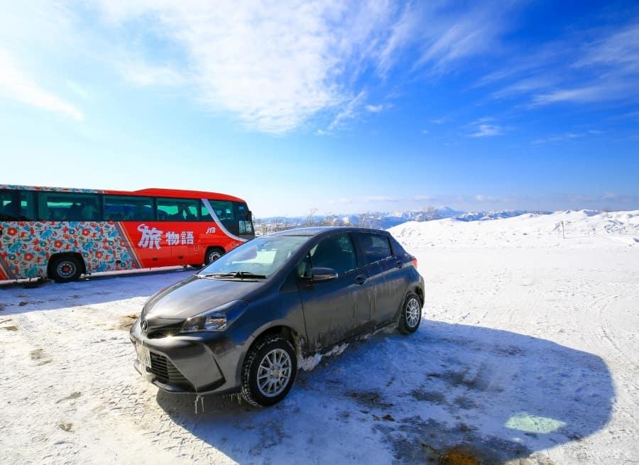 【北海道租車自駕旅行|雪地駕駛】第一次雪地駕駛就上手!新手雪地開車要注意的九件事。