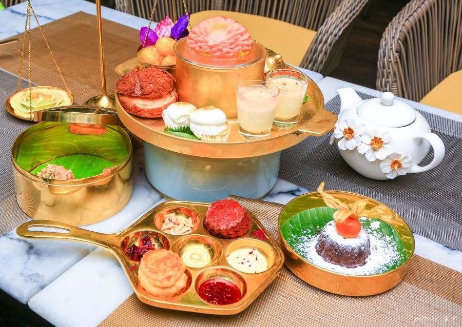 【曼谷美食|咖啡店推薦】Divana Signature Cafe,藏身曼谷市區的優雅小花園。