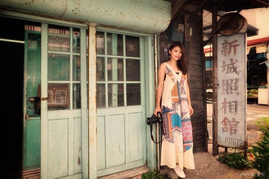 【花蓮景點|新城照相館】守候舊時光,百年老宅的盛夏光年。