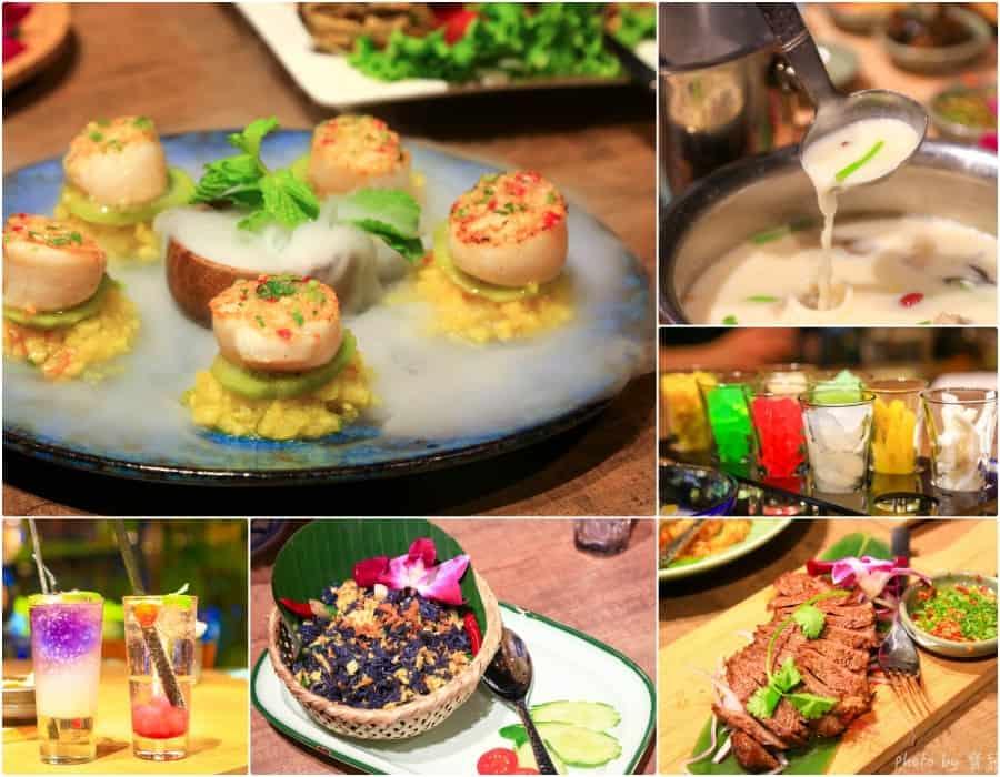 【台北內湖美食|Thai Bar泰八泰式料理】八種泰式小菜吃到飽,CityLink內湖店內精緻平價的泰式美味。